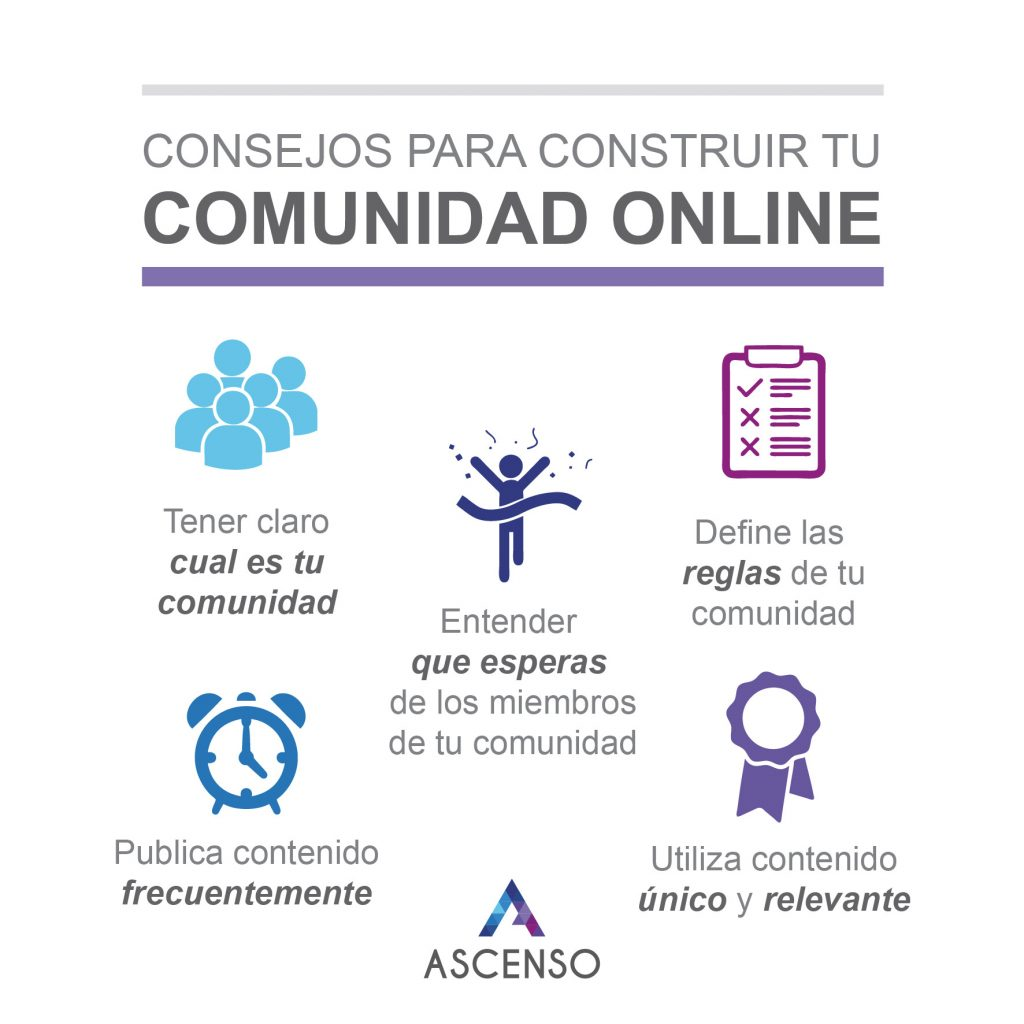 Consejos para construir tu comunidad online