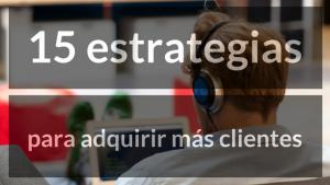 estrategias para adquirir mas clientes
