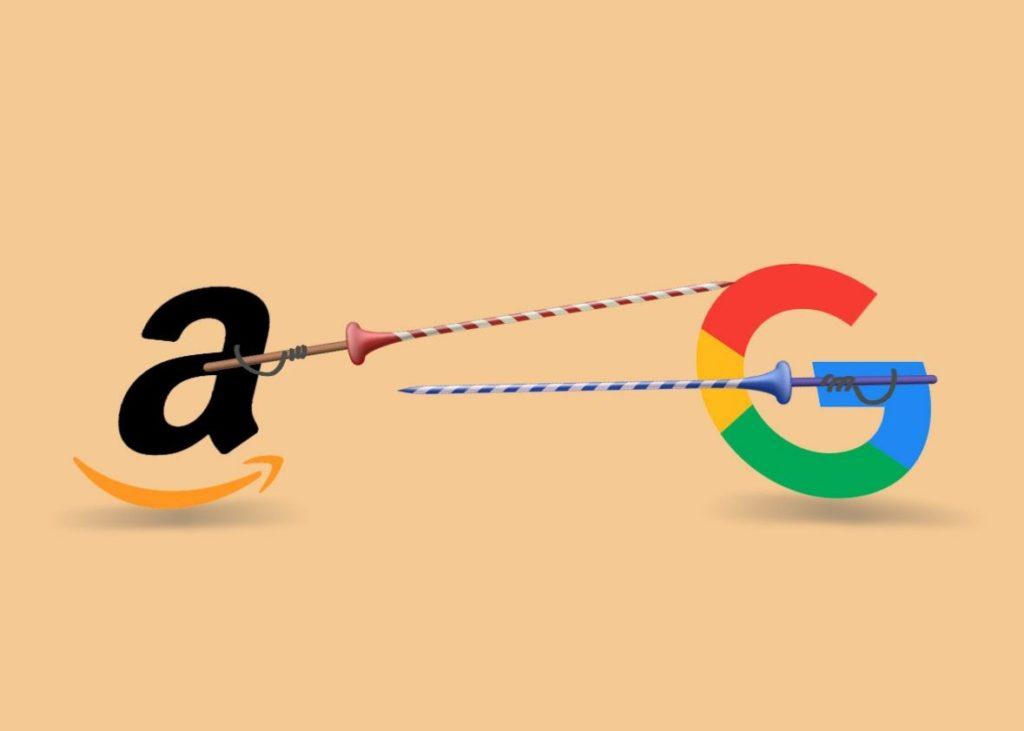 Google y Amazon La lucha de dos gigantes que se aproxima para este 2019