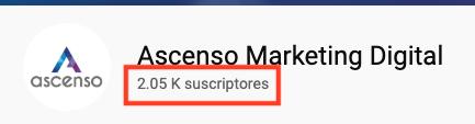 ocultar número de suscriptores youtube