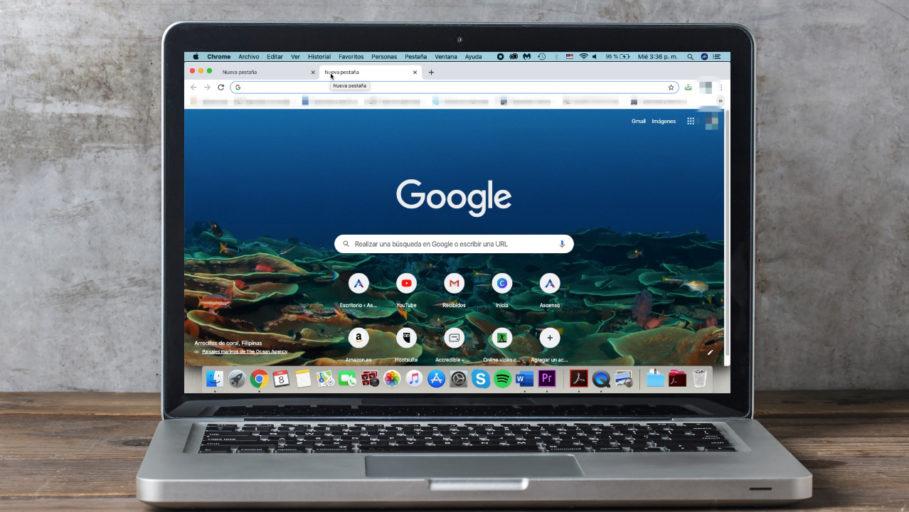 personaliza fondo pagina de inicio google
